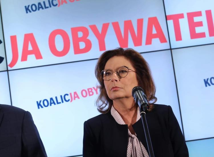 Politycy komentują wycofanie się Kidawy-Błońskiej