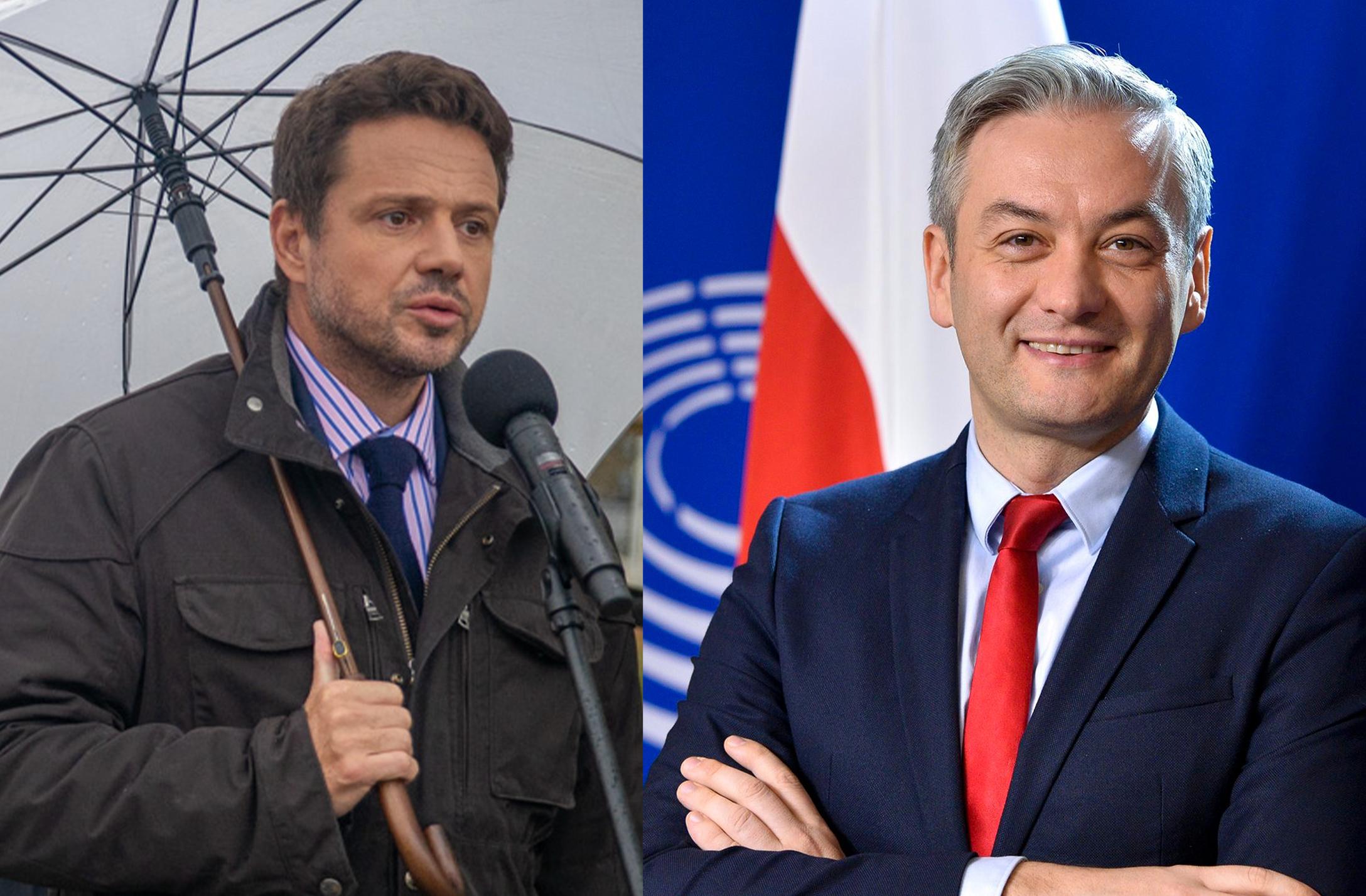 Biedroń doTrzaskowskiego: TVP wymaga zmiany, aniezaorania