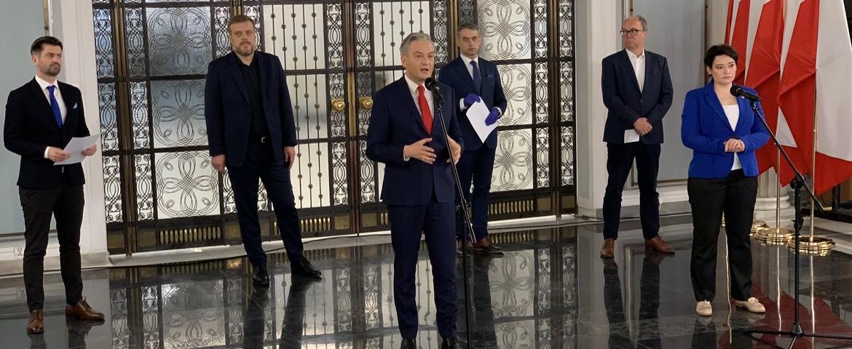 LEWICA: Sasin iMorawiecki trafią przedTrybunał Stanu