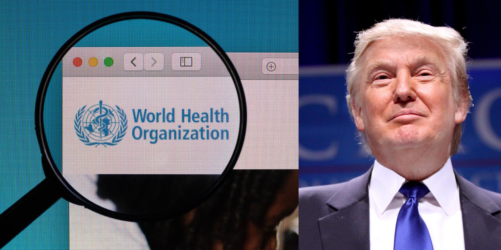 Trump wycofał USA ze Światowej Organizacji Zdrowia