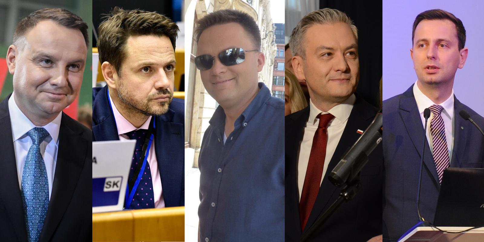 Topnieje poparcie dla Andrzeja Dudy