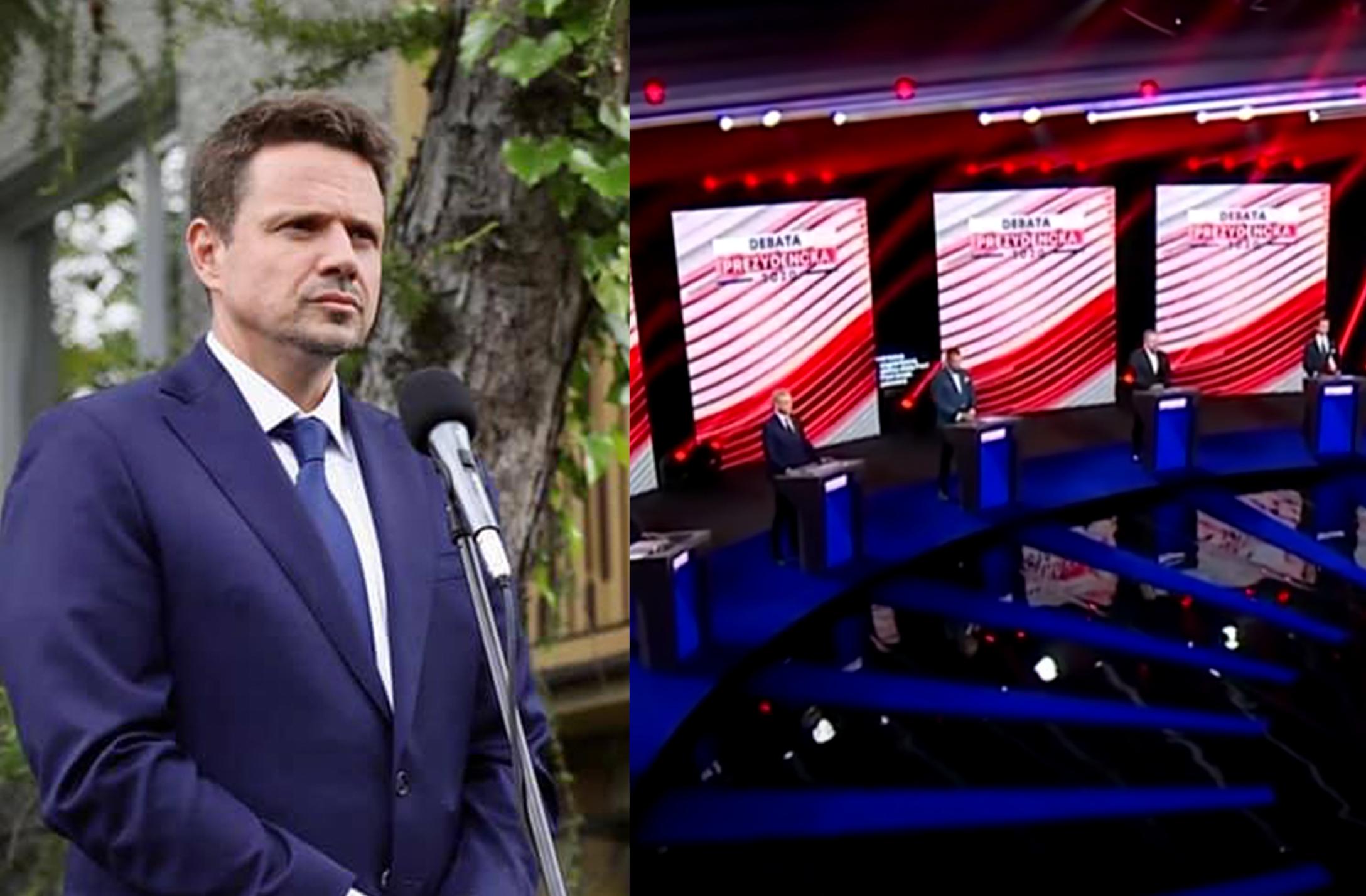 Trzaskowski nie weźmie udziału w debacie TVP? Opozycja podzielona