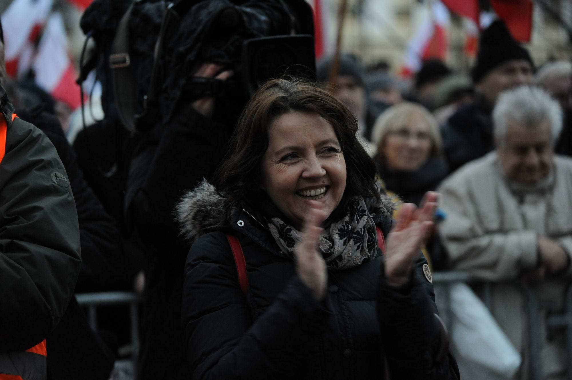 """Lichocka: """"Liderki Strajku Kobiet zachowują się jak motłoch"""""""