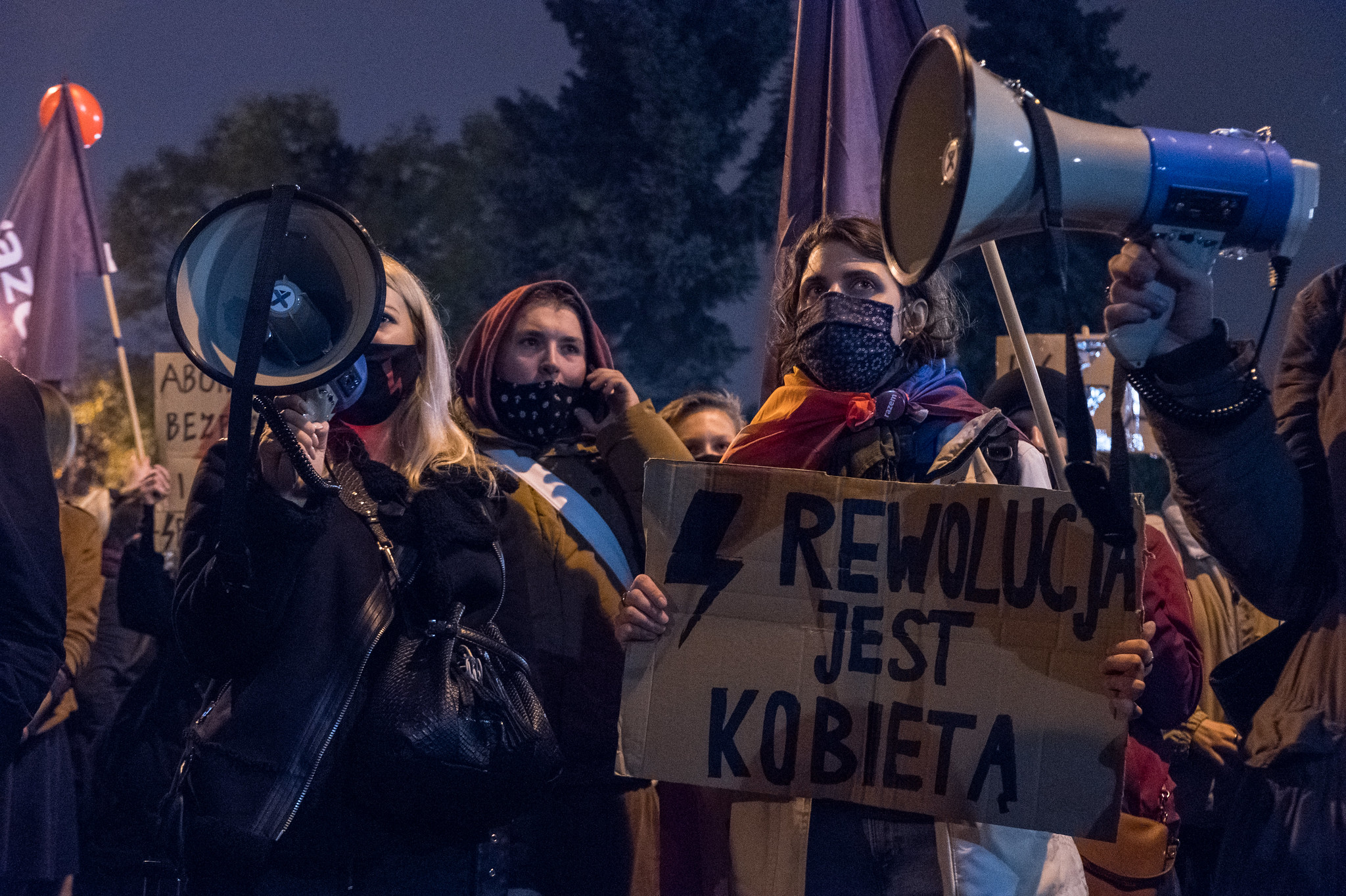 """Organizatorki marszy Strajku Kobiet wzywane napolicję. """"Próba zamknięcia nam ust"""""""