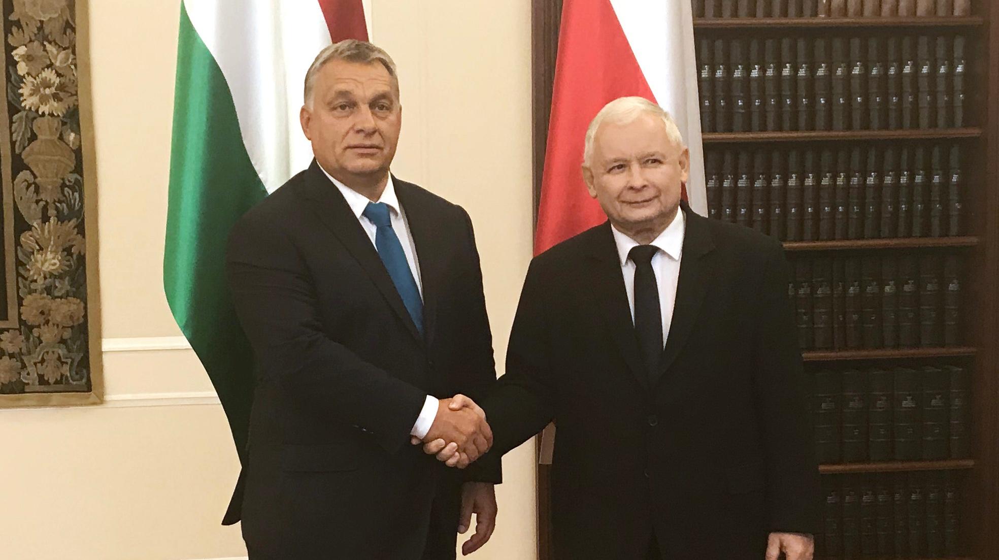 """[WIDEO] Orban: """"Ekscelencja Kaczyński jest legendą naWęgrzech"""""""