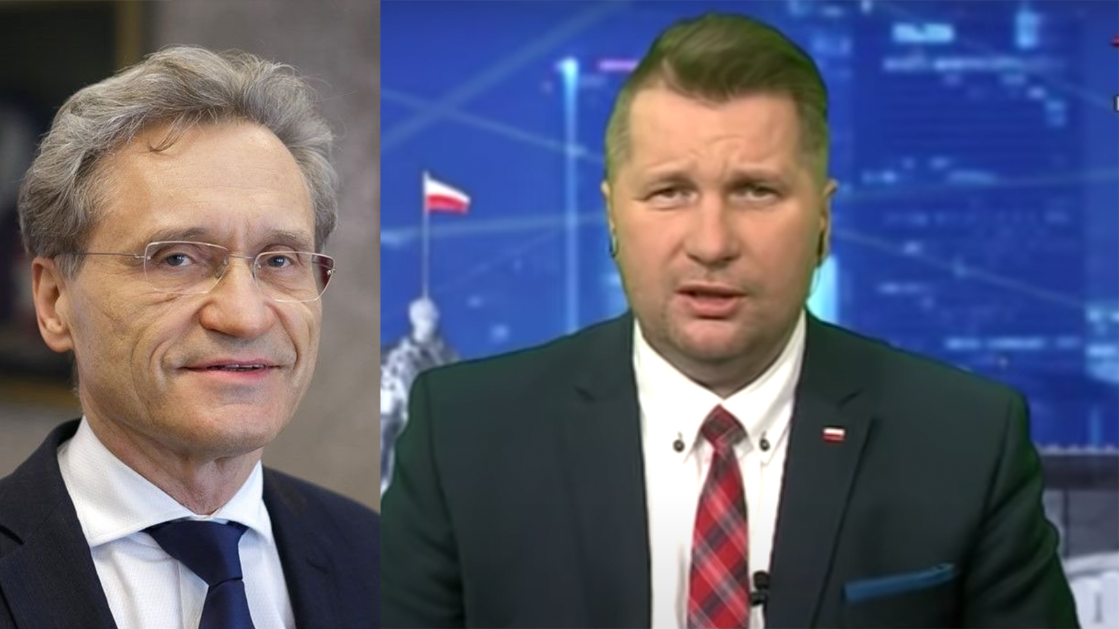 """Czarnek dorektora WUM: """"Pan szczepi ubeków, namiłość boską"""""""