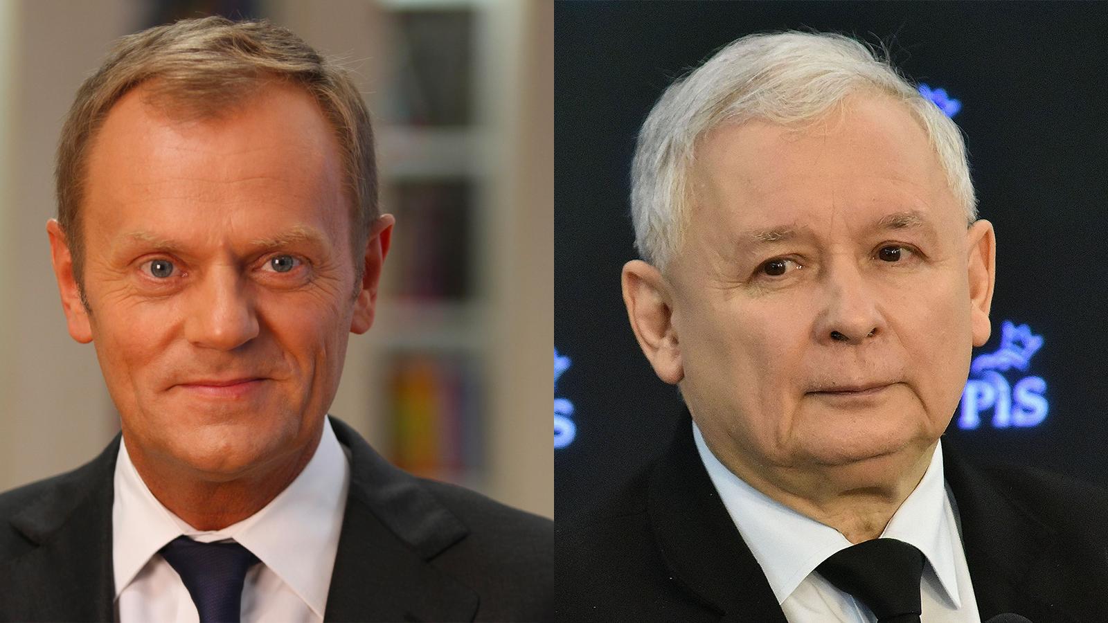 """Tusk osłowach Kaczyńskiego: """"Zgadzam się wstu procentach"""""""