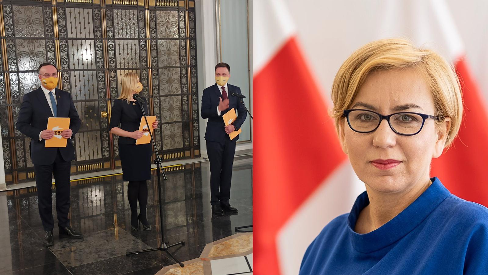 [PILNE] Hennig-Kloska z KO jednak przechodzi do Polski 2050