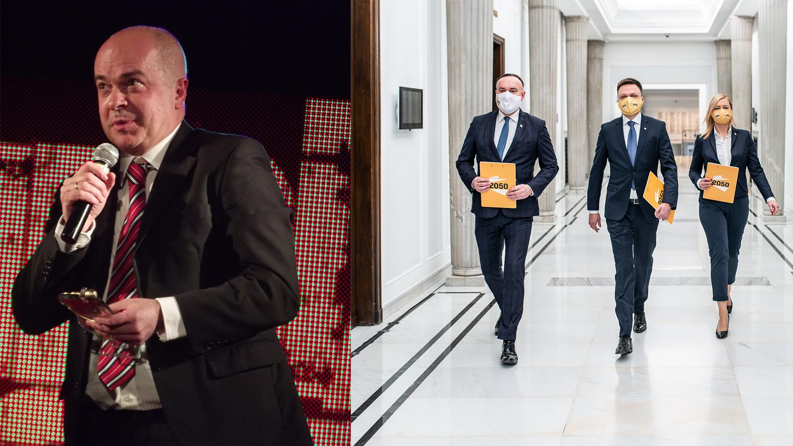 Kolejni posłowie opuszczą Koalicję Obywatelską idołączą doPolski 2050?
