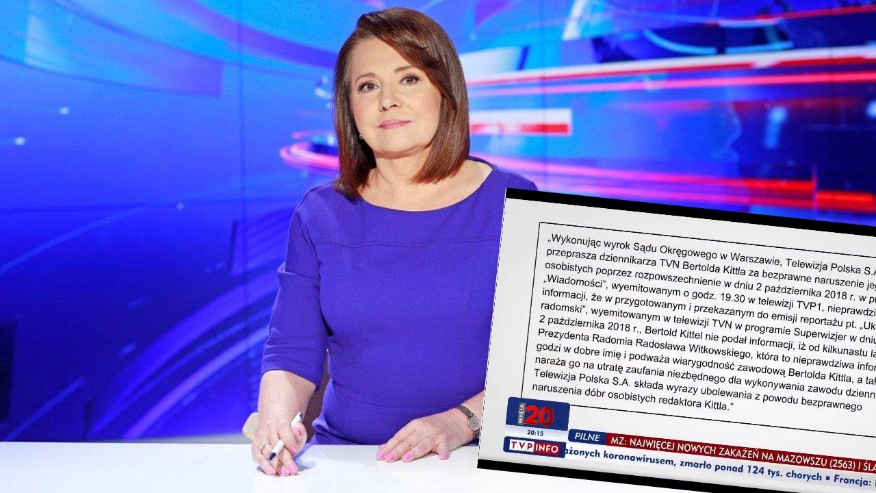"""TVP rozpoczęło """"Wiadomości"""" wcześniej. Chcieli ukryć przeprosiny za pomówienie"""