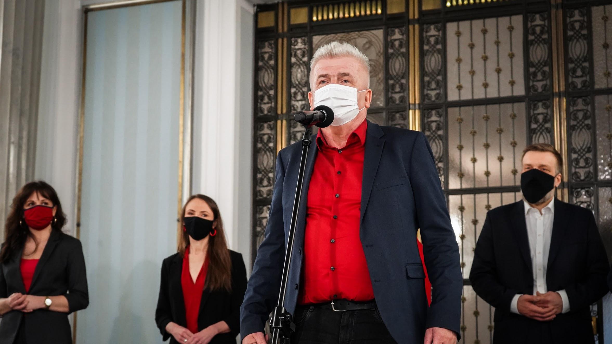 """Ikonowicz kandydatem Lewicy na RPO.""""Uosobienie walki o prawa człowieka"""""""