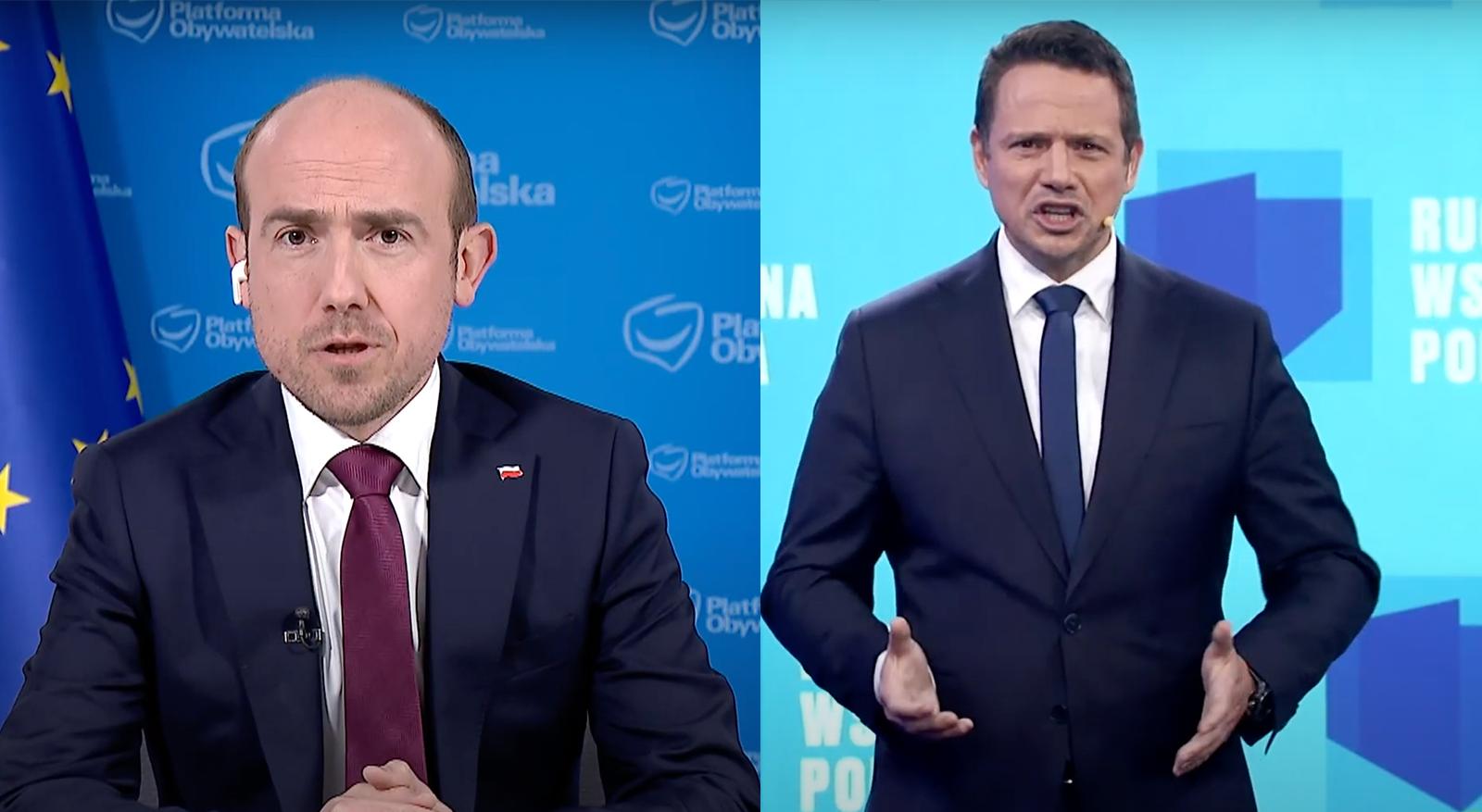 """Platforma wycofuje się z Ruchu Trzaskowskiego. Budka: """"Rzuciliśmy hasło pod wpływem emocji"""""""