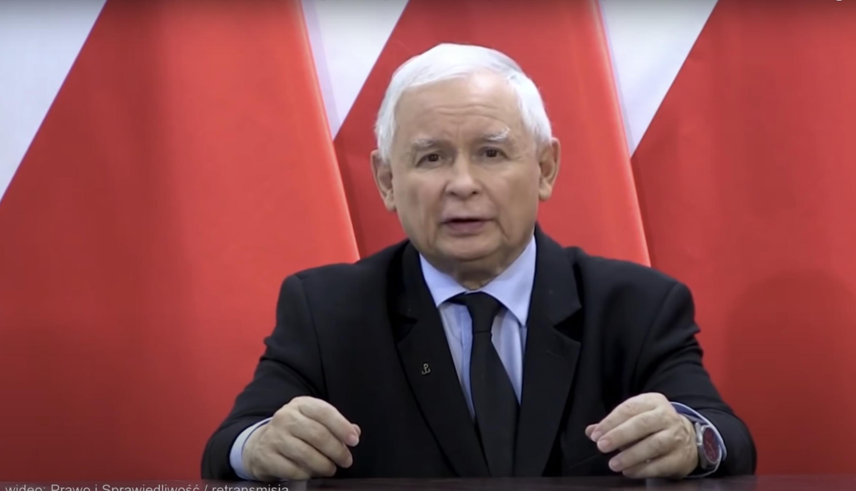 """Kaczyński: """"Musimy budować front obrony chrześcijaństwa"""""""