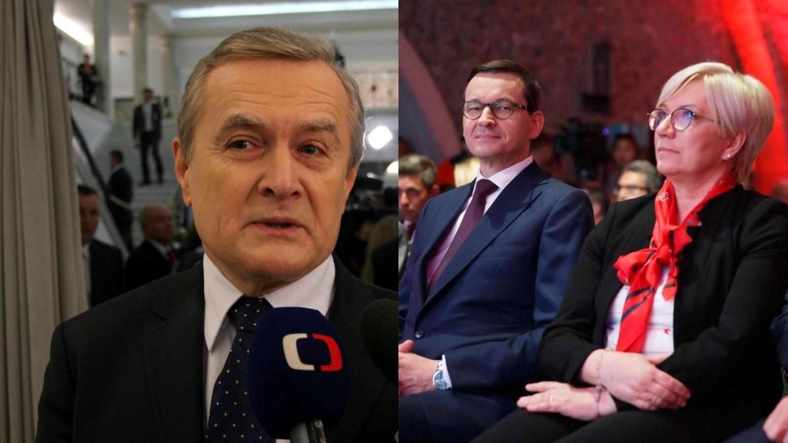 """Szokujące słowa Glińskiego: """"Przyłębska wyrwała TK zrąk komunistów"""""""