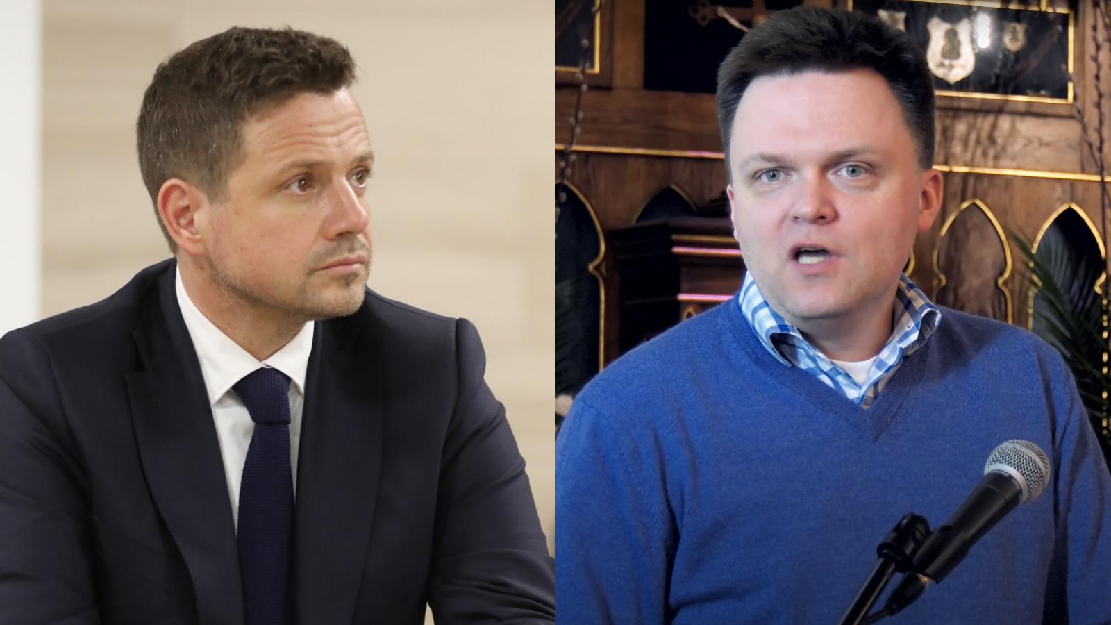 """Trzaskowski wyciąga rękę doHołowni. """"Konieczne porozumienie opozycji"""""""