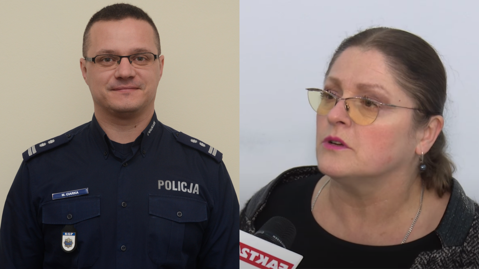 """Rzecznik policji oKrystynie Pawłowicz: """"Zasługuje nanależny jej szacunek"""""""