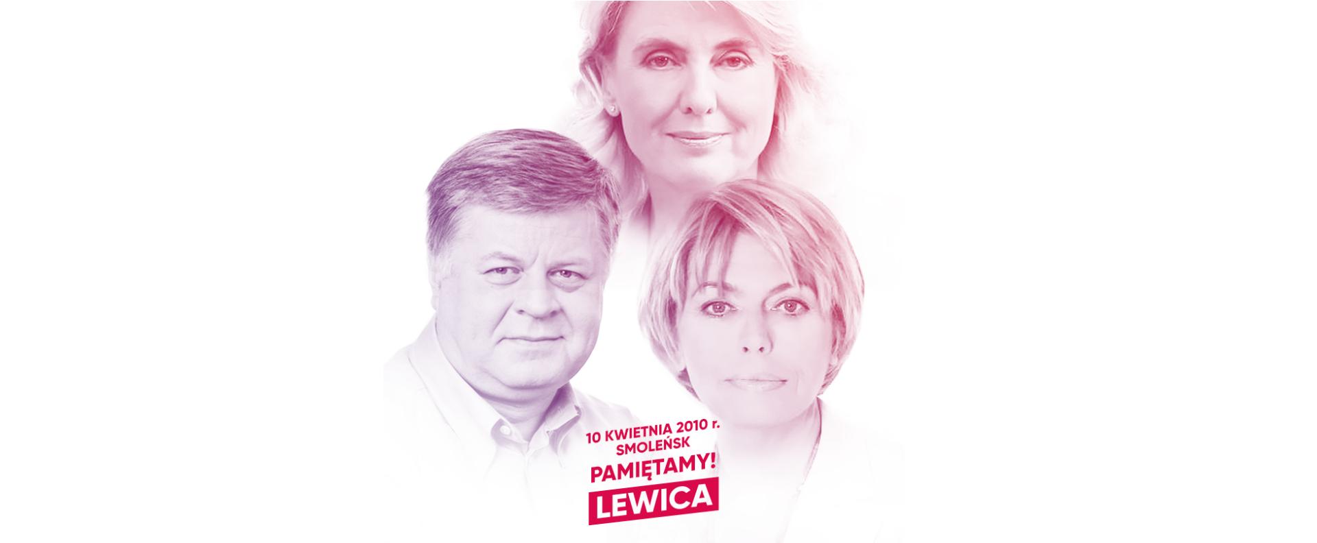 """Lewica wspomina ofiary katastrofy smoleńskiej: """"Pamiętamy"""""""