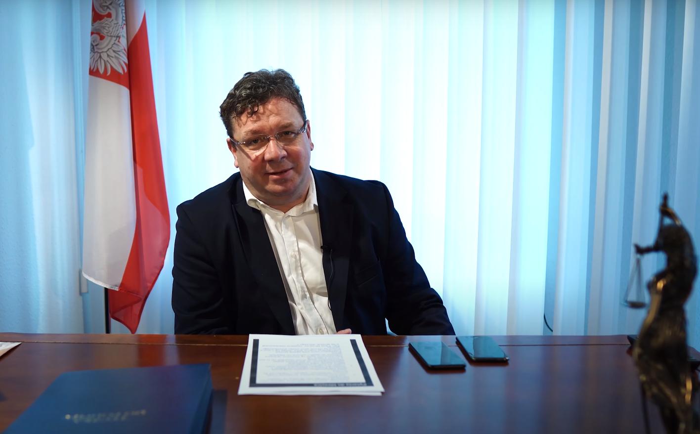 """Wójcik (Solidarna Polska) oTuleyi: """"Niemoże być tak, żestaje ponad prawem"""""""