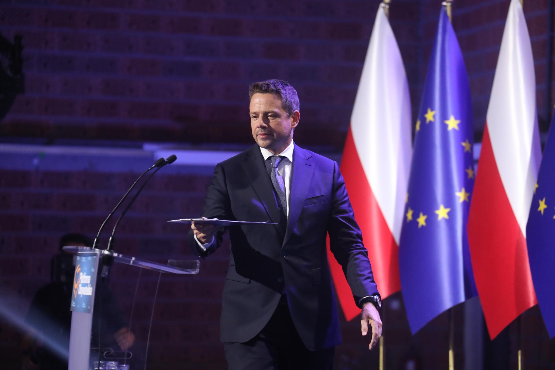 """Trzaskowski: """"Jeżeli POsię nieotworzy nainnych, tozniknie zrynku politycznego"""""""