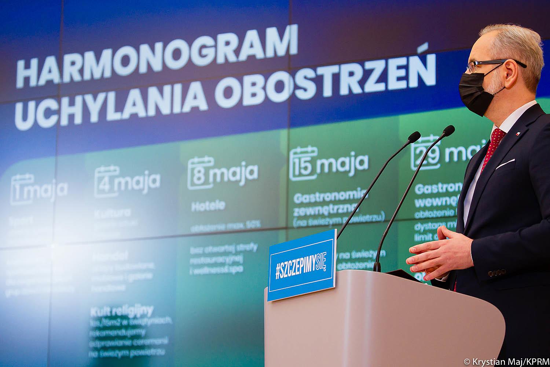 Premier i Minister Zdrowia ogłosili nowe ustalenia dotyczące pandemii