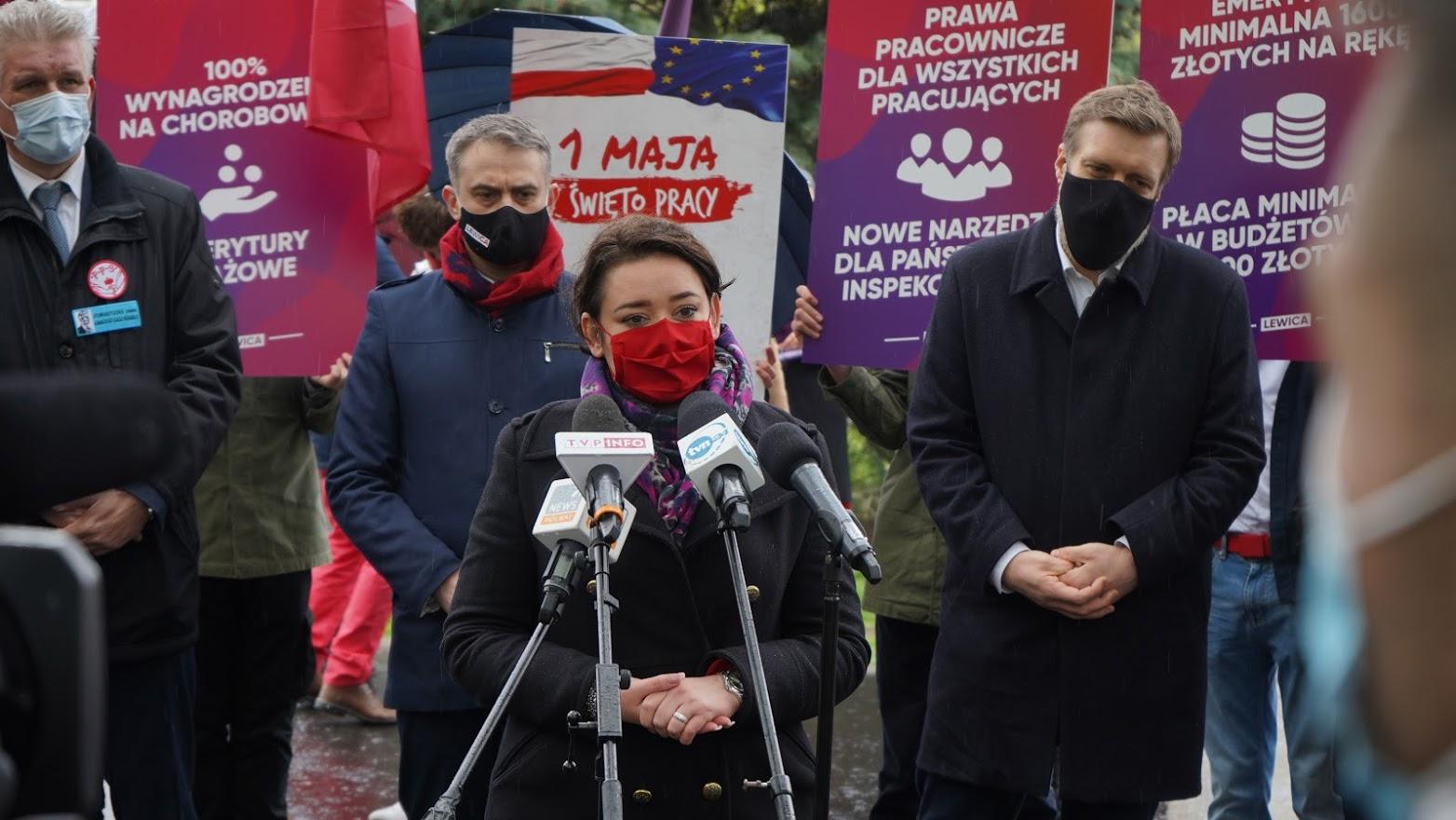 Lewica zgłasza projekty ustaw dla pracowników i deklaruje warunkowe poparcie dla KPO
