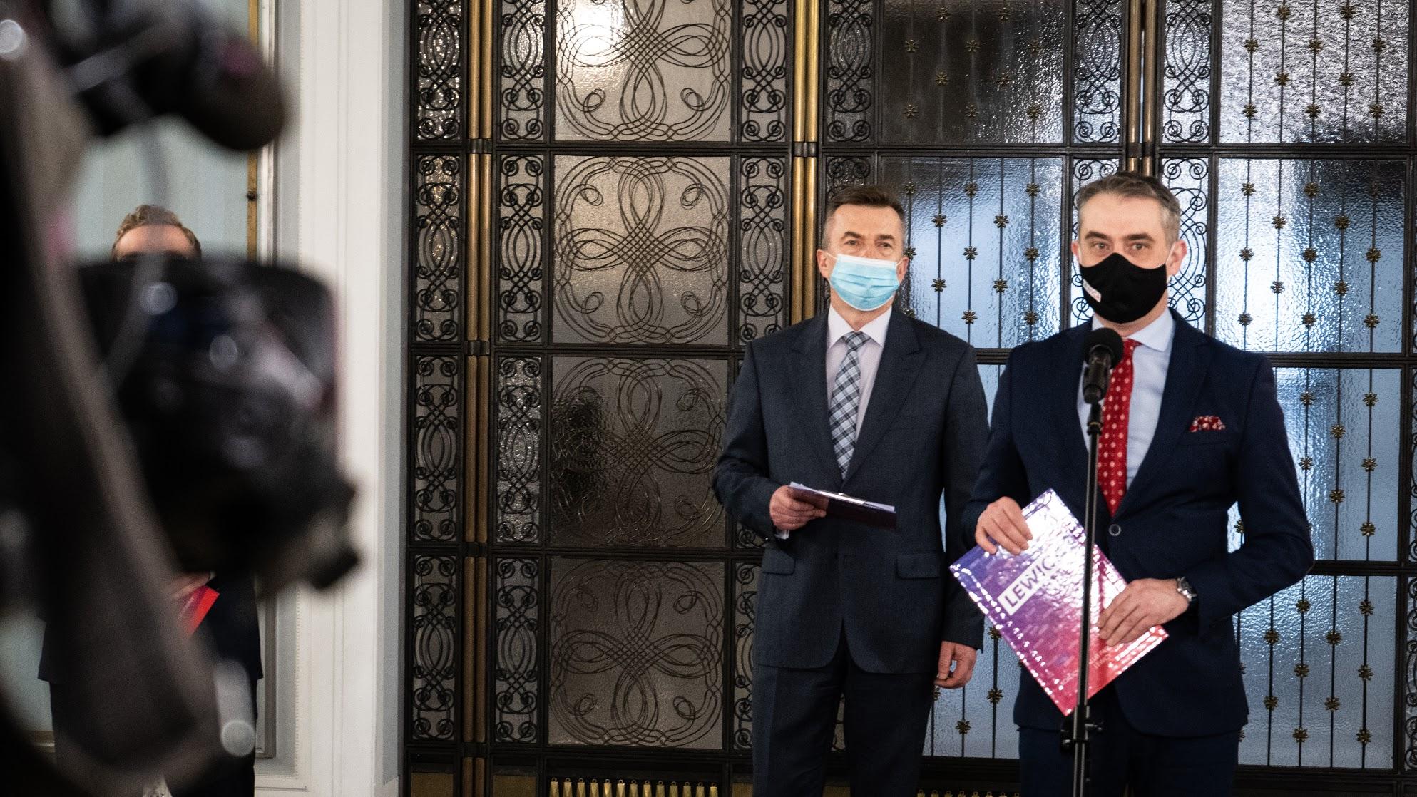 Gawkowski: Nie dilujemy z PiS-em, tylko załatwiamy interes dla Polek i Polaków