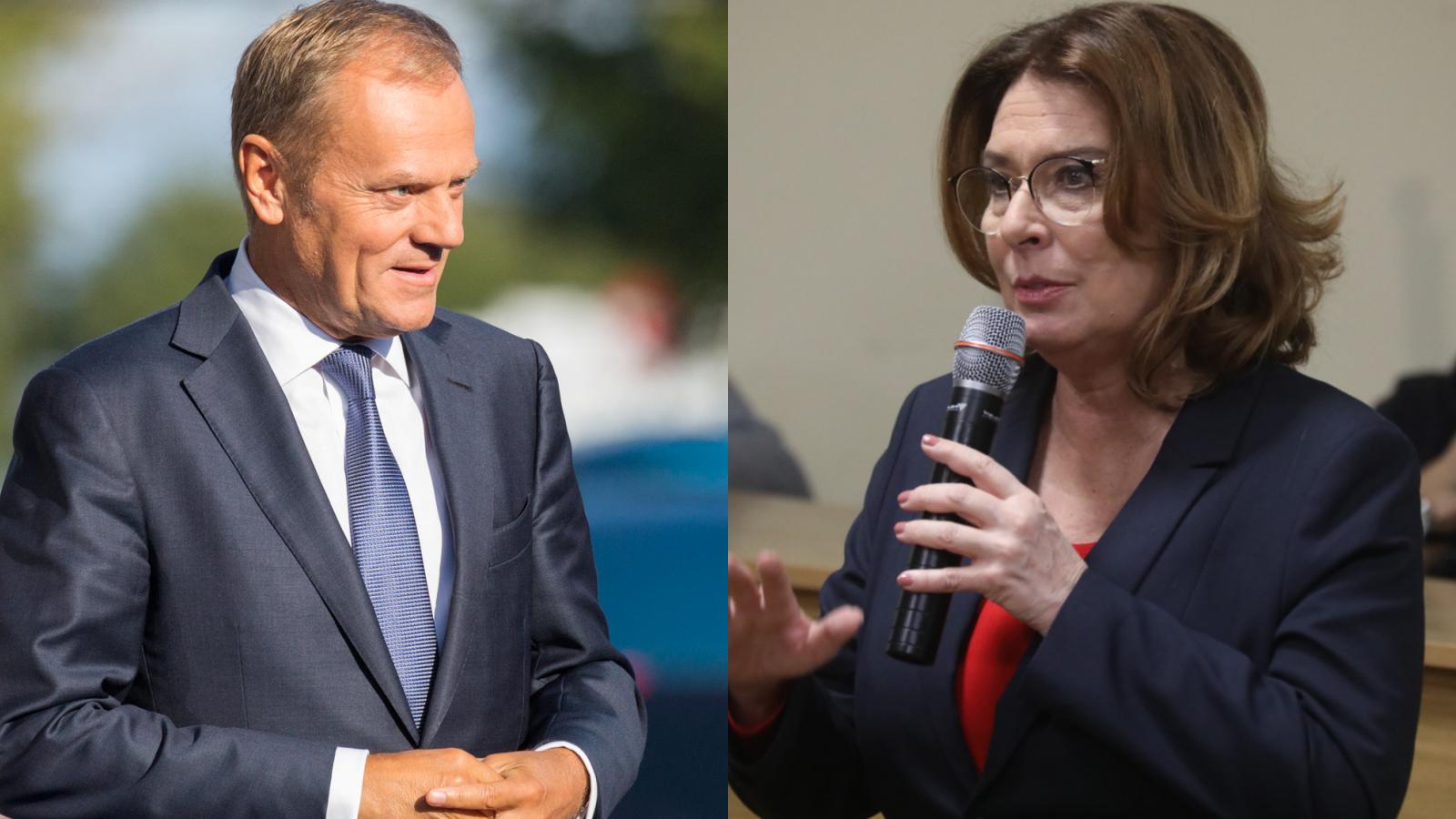 """Kidawa-Błońska: """"Bardzo bymchciała powrotu Tuska, wyborcy też"""""""