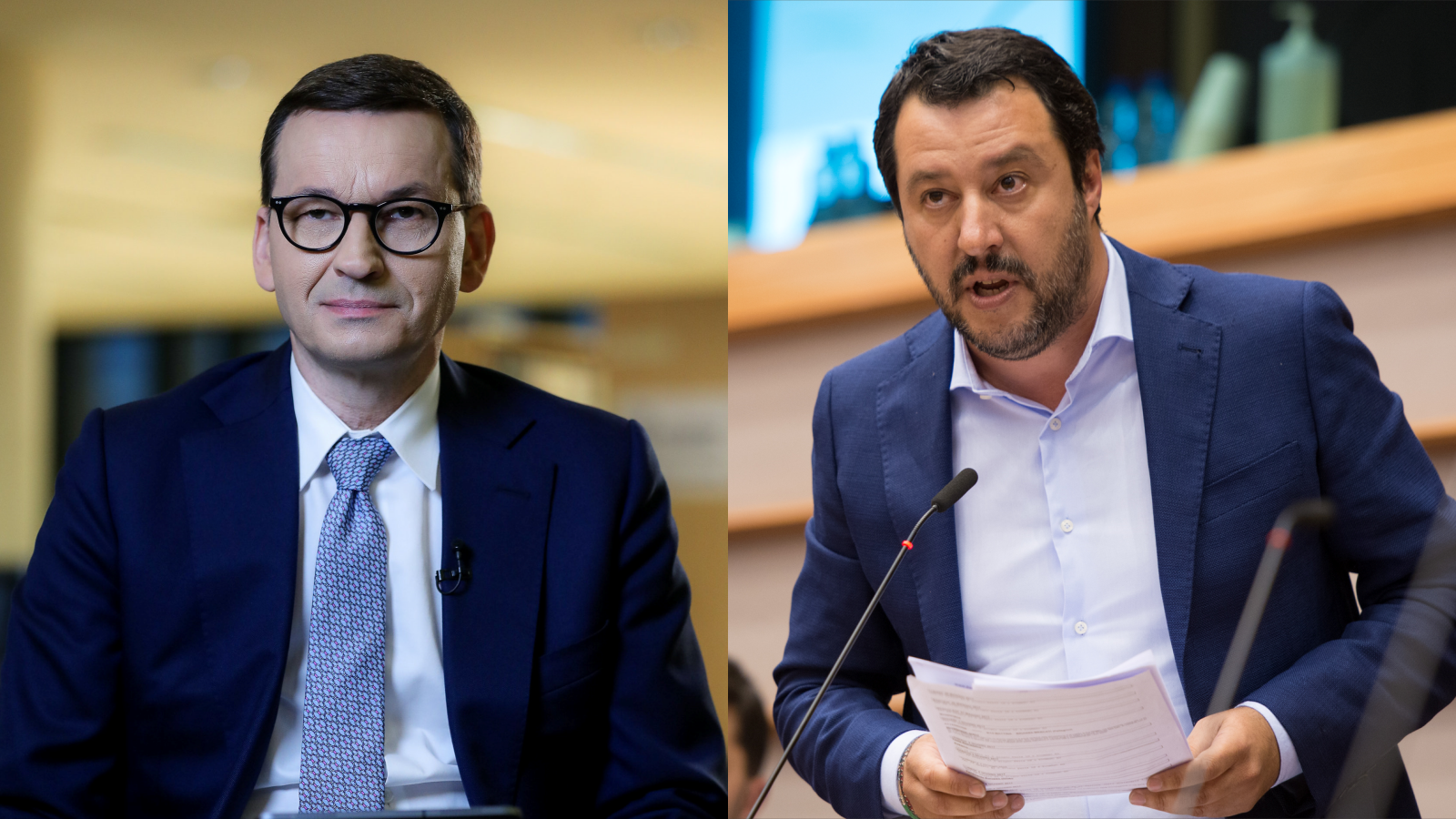 """Salvini chce nowej grupy wPE, awniej PiS-u. """"Potrzebny ktoś, kto powie nieadopcji przezgejów"""""""