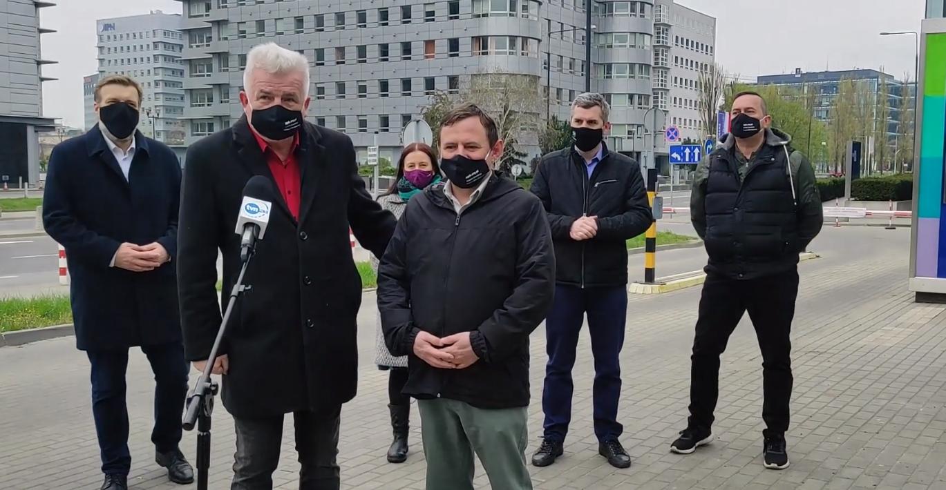 [WIDEO] Lewica i Ikonowicz walczą o uzwiązkowienie korporacji