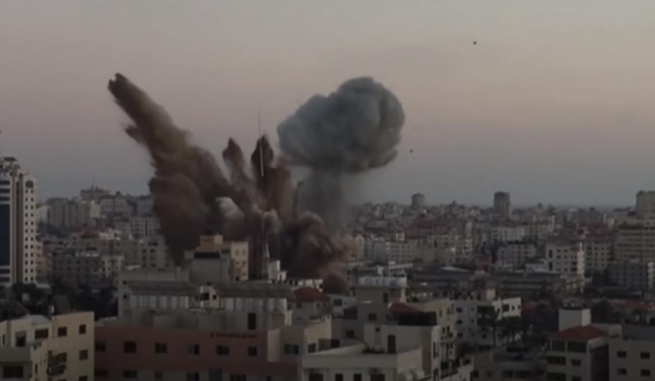 26 osób zmarło w niedzielnym nalocie Izraela na Strefę Gazy