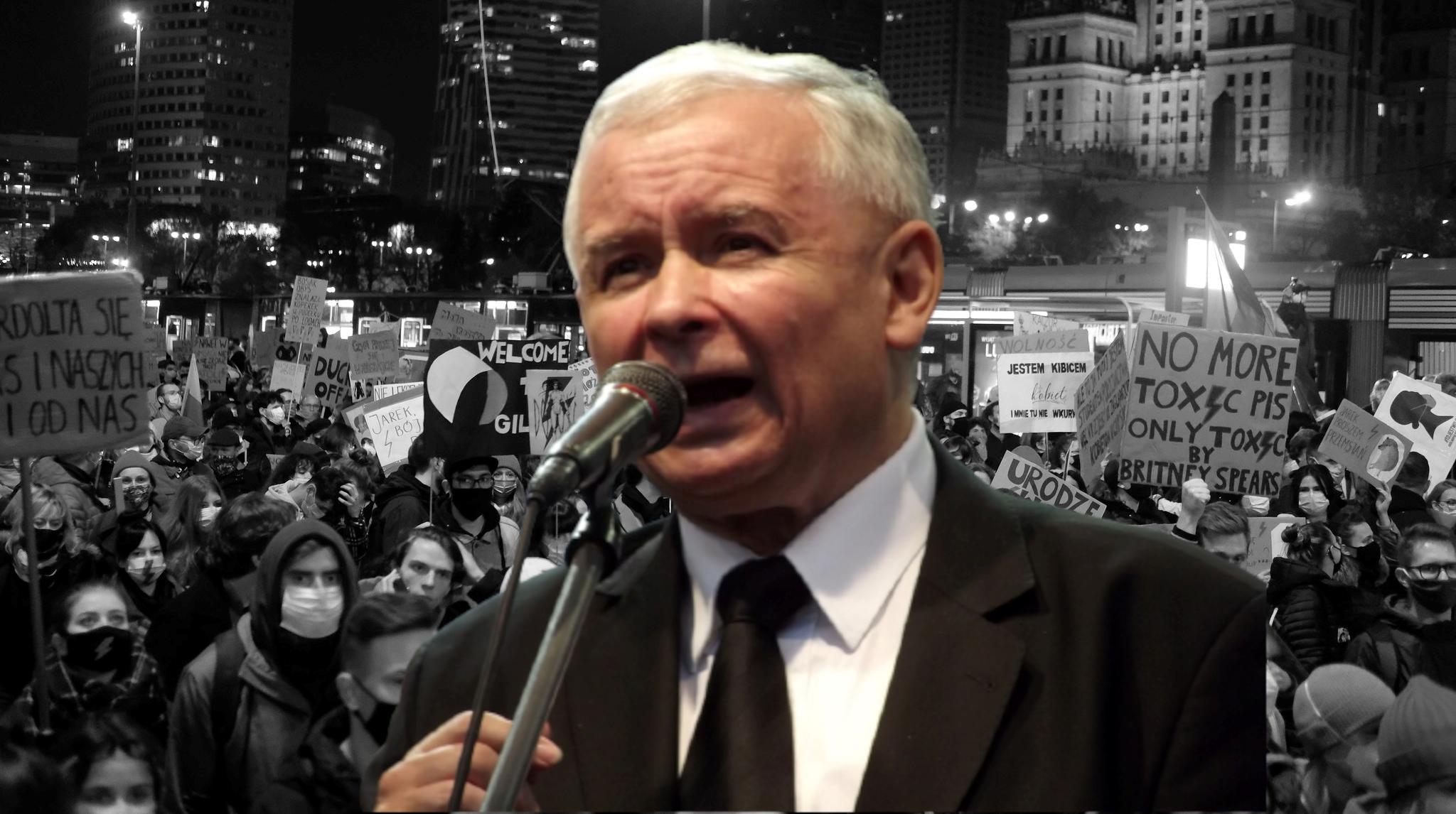 """Kaczyński: """"Opowieść, żemamy wPolsce zakaz aborcji toabsurd"""""""