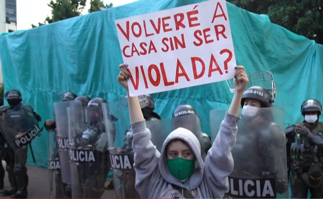 Kolumbia walczy, świat milczy