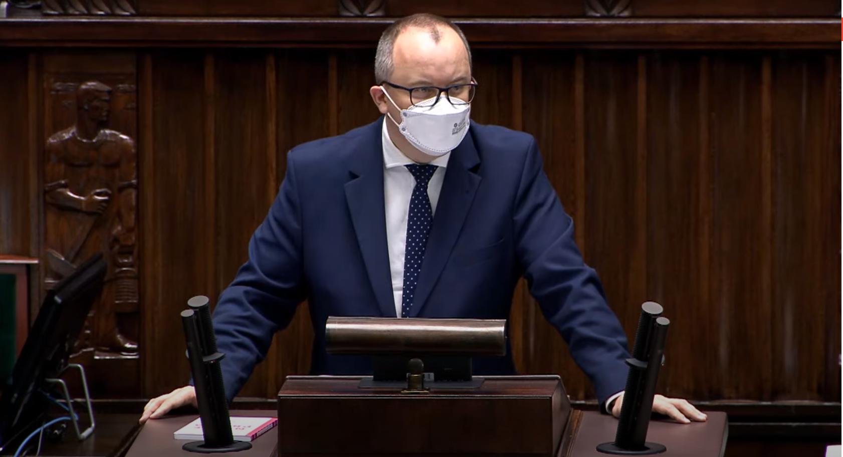 """Ostatnie sejmowe wystąpienie Bodnara jako RPO: """"Mamy niespotykany dotąd chaos prawny"""""""