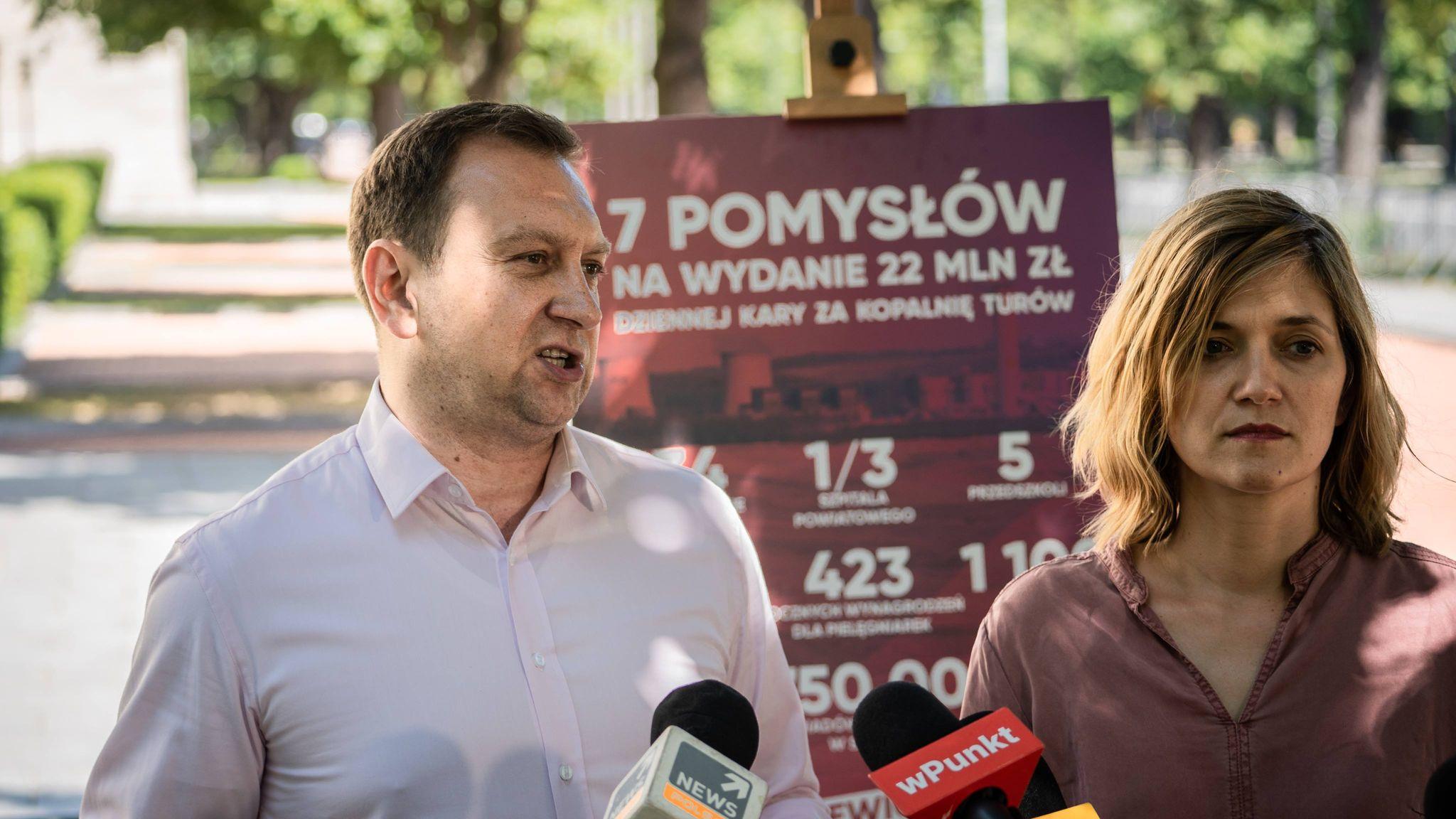 """Lewica żąda informacji od premiera ws. Turowa. """"Skąd PiS weźmie pieniądze na swoją zabawę?"""""""