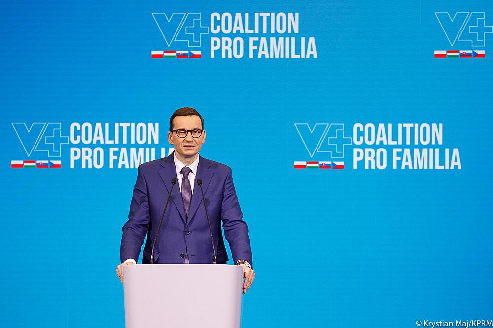 Morawiecki: Polski Ład da nam polską wersję 'american dream'