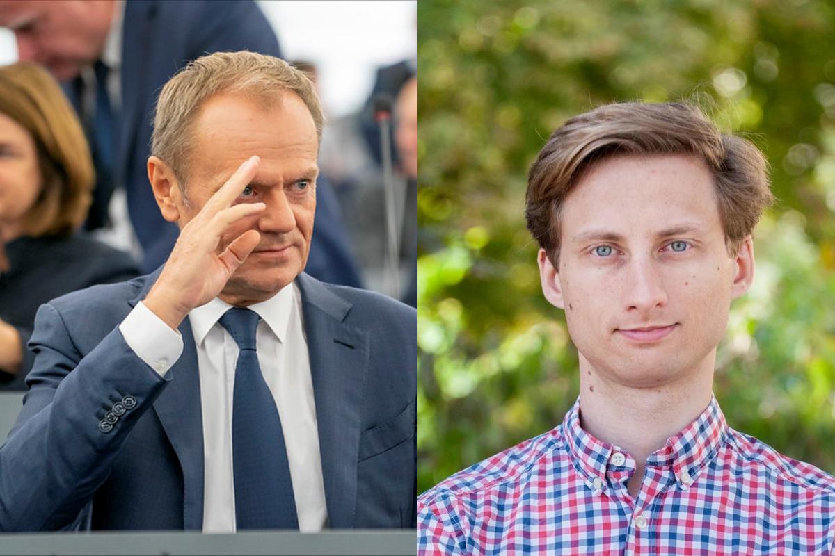 """Sterczewski ostro o Tusku: """"Mam wątpliwość co do figury rycerza na białym koniu"""""""