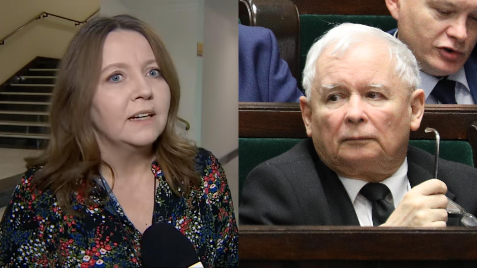 """Lichocka o Kaczyńskim: """"To najwybitniejszy polityk. Opozycja może o takim marzyć"""""""