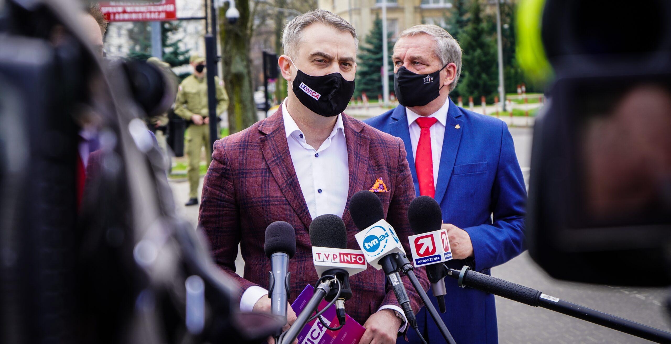 Politycy Lewicy iPSL sceptyczni ws. powrotu Tuska dokrajowej polityki
