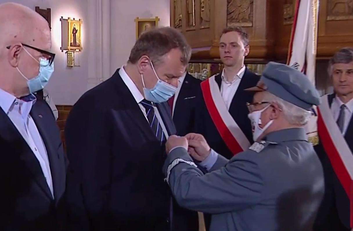 """Kurski odznaczony orderem. Mówił o """"obronie wartości przed neobolszewią"""""""
