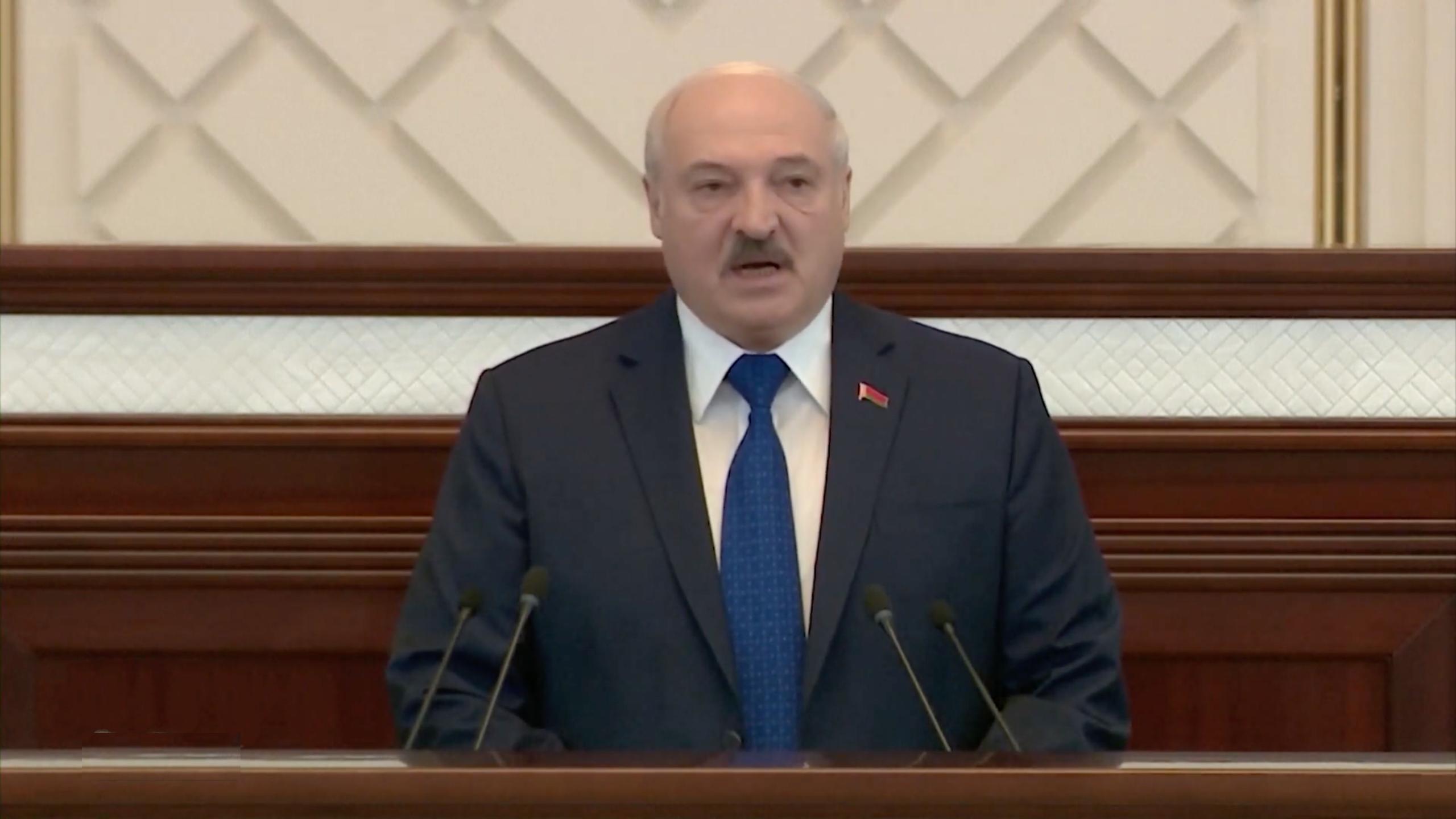 Reżim Łukaszenki odgraża się Europie w sprawie sankcji