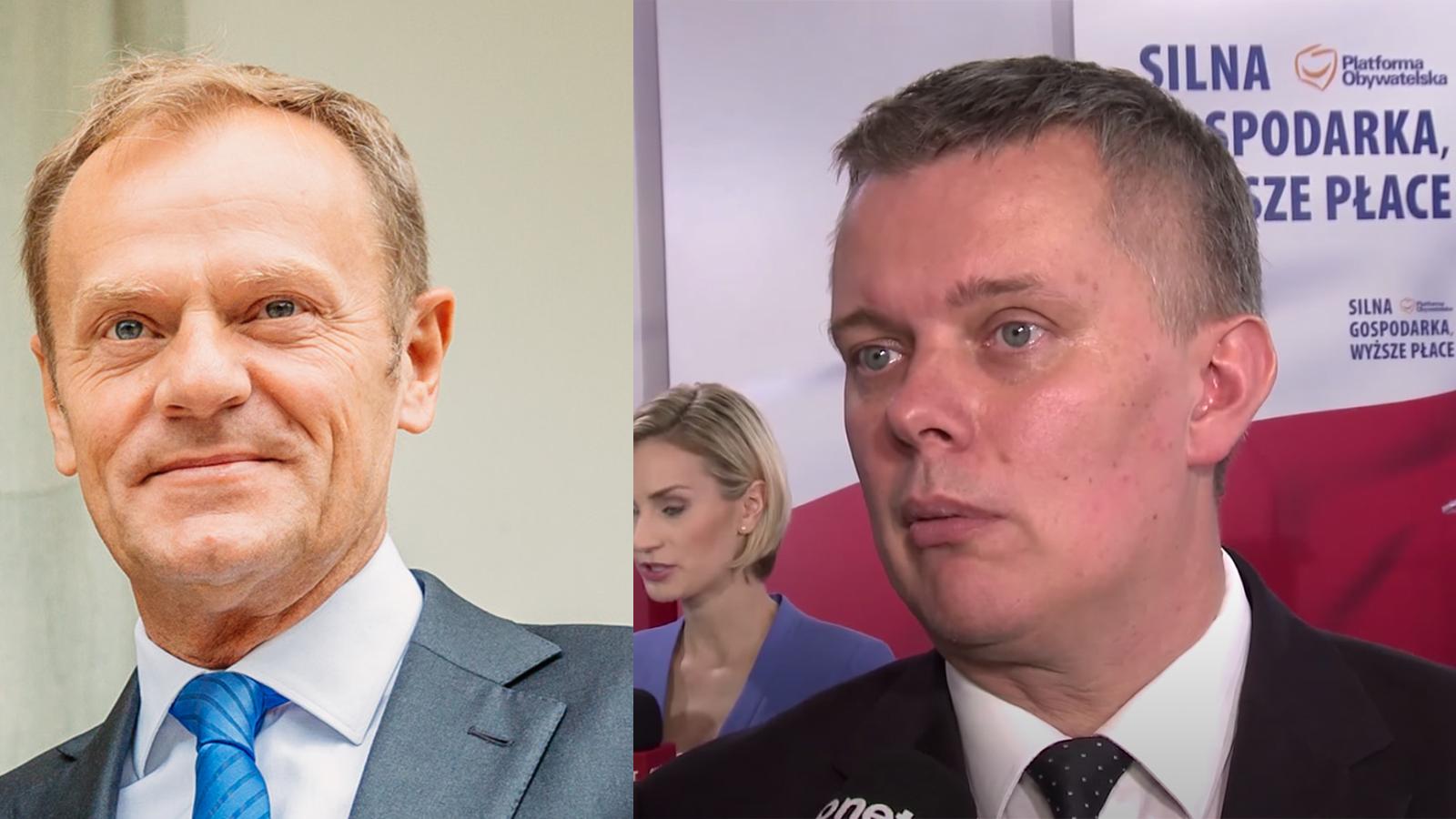 """Wiceszef Platformy: """"Tusk powinien wrócić, brakuje go"""". Budka powinien się martwić?"""