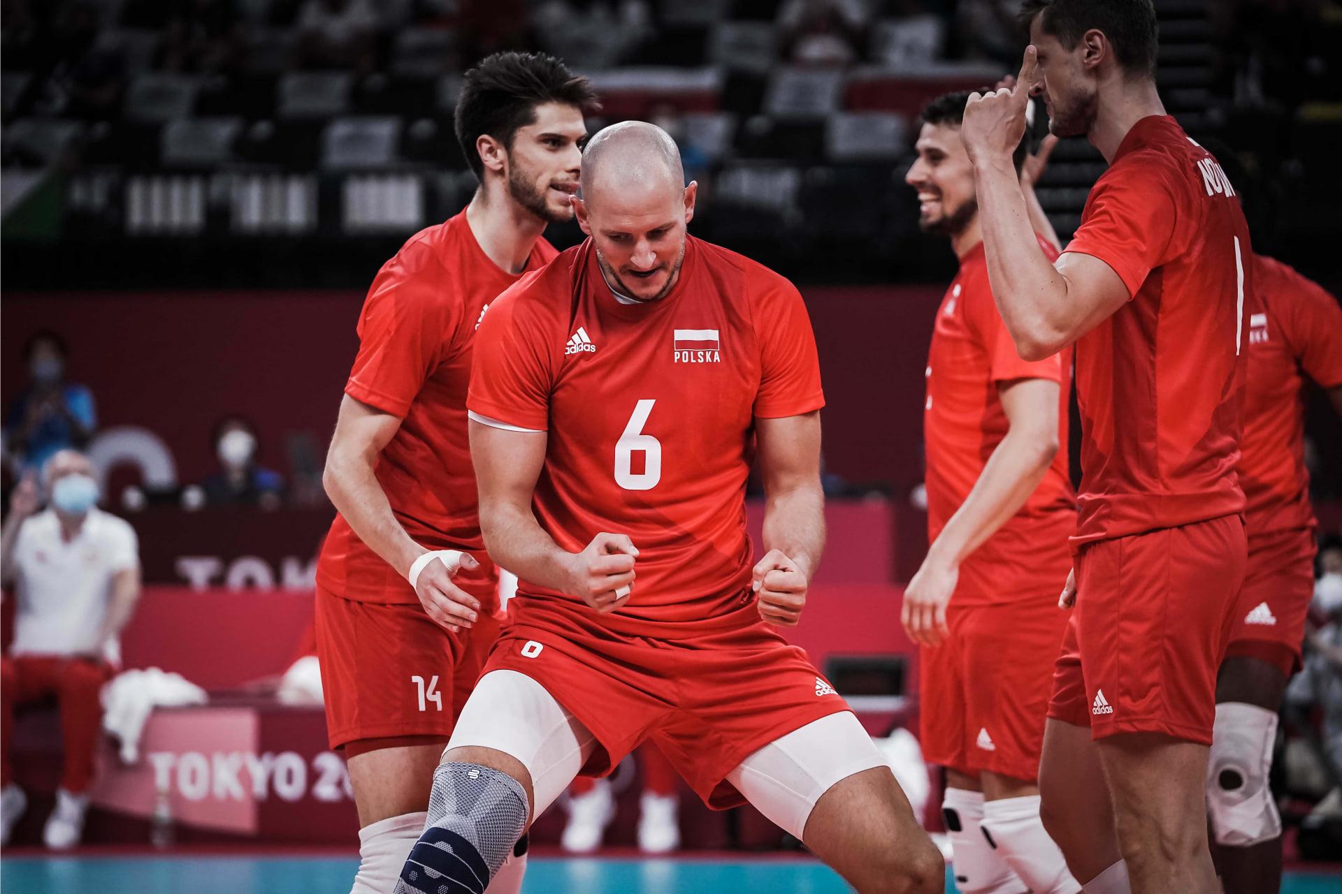 Tokio: Polscy siatkarze pokonali Włochów 3:0 w swoim drugim meczu turnieju olimpijskiego
