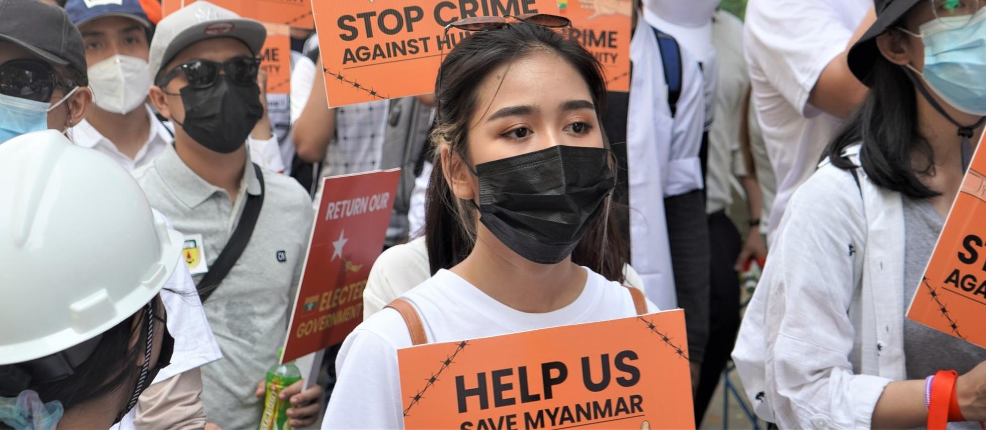 ONZ: 75 dzieci zostało zabitych, a ok. 1000 zatrzymanych w Birmie od początku puczu