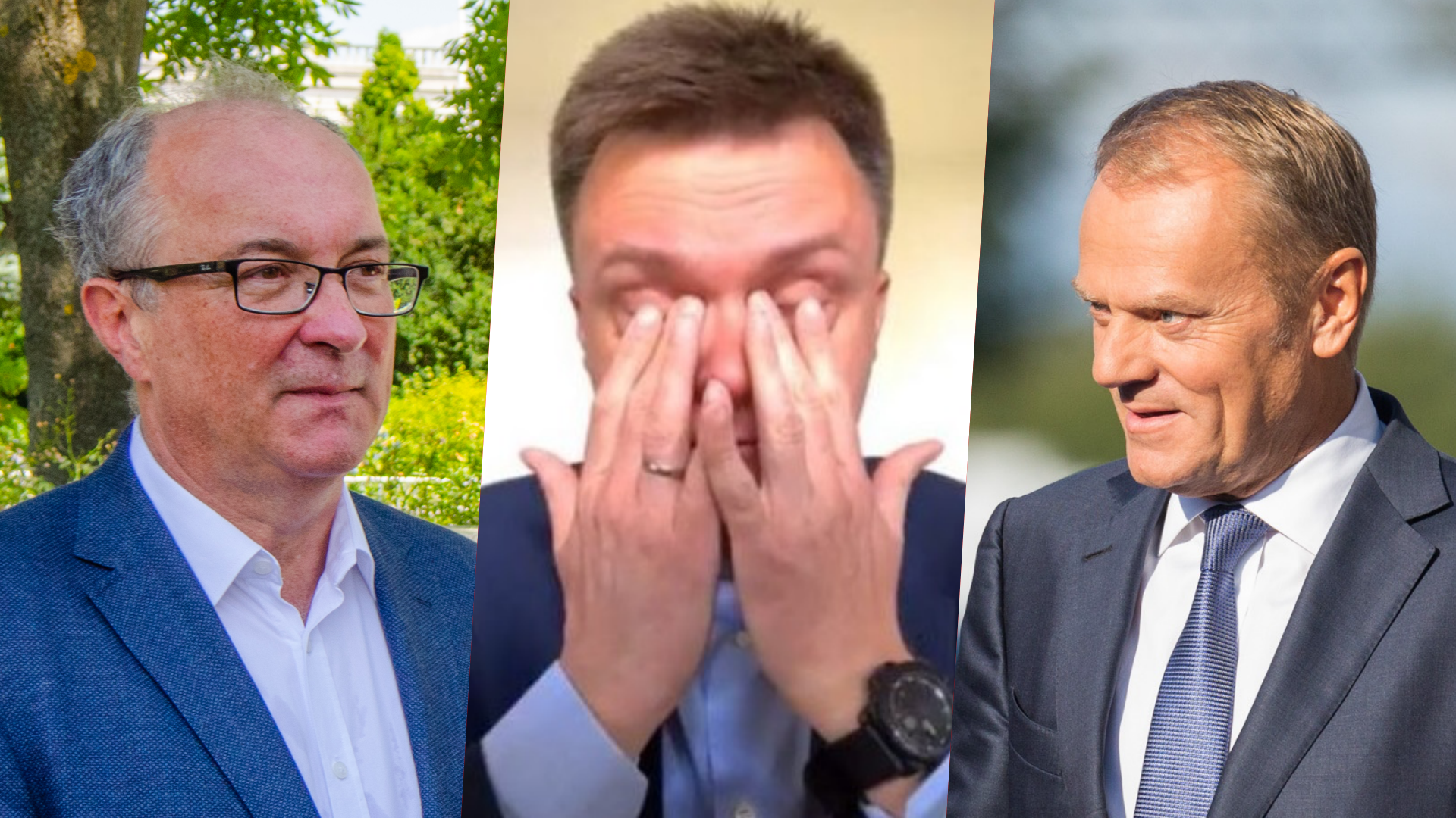 Sondaż: Dramatyczny Spadek Hołowni. KO i Lewica w górę