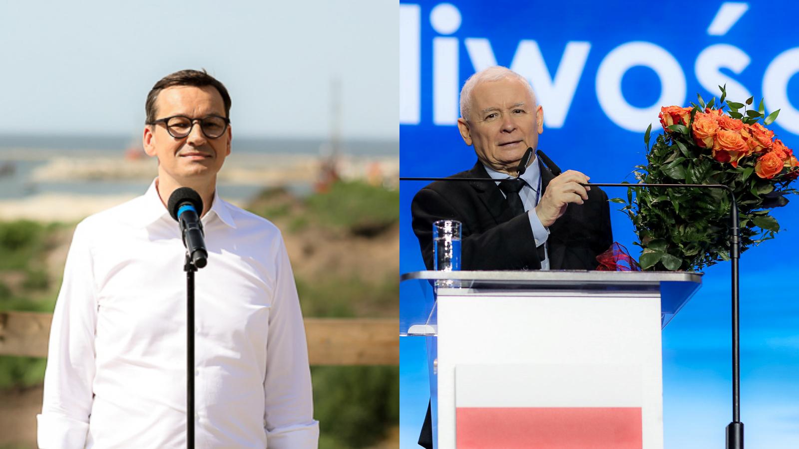 """Morawiecki słodzi Kaczyńskiemu: """"Prezesem PiS został NAJWYBITNIEJSZY polityk"""""""