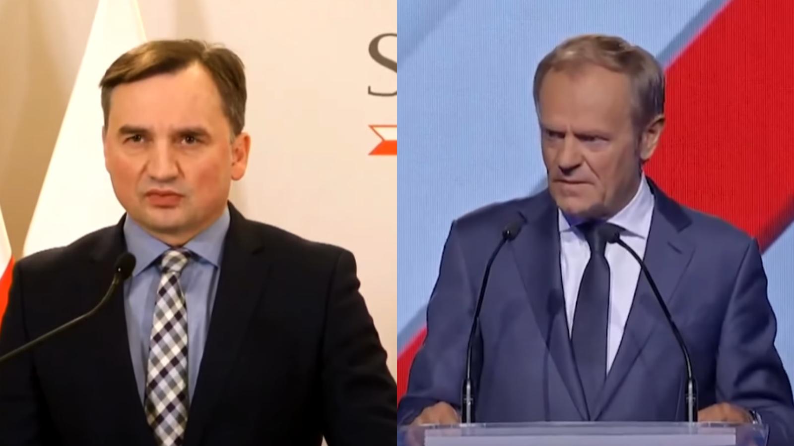 """Tusk odpowiada Ziobrze ws. pozwu. """"Minister ma jakieś powody do niepokoju"""""""