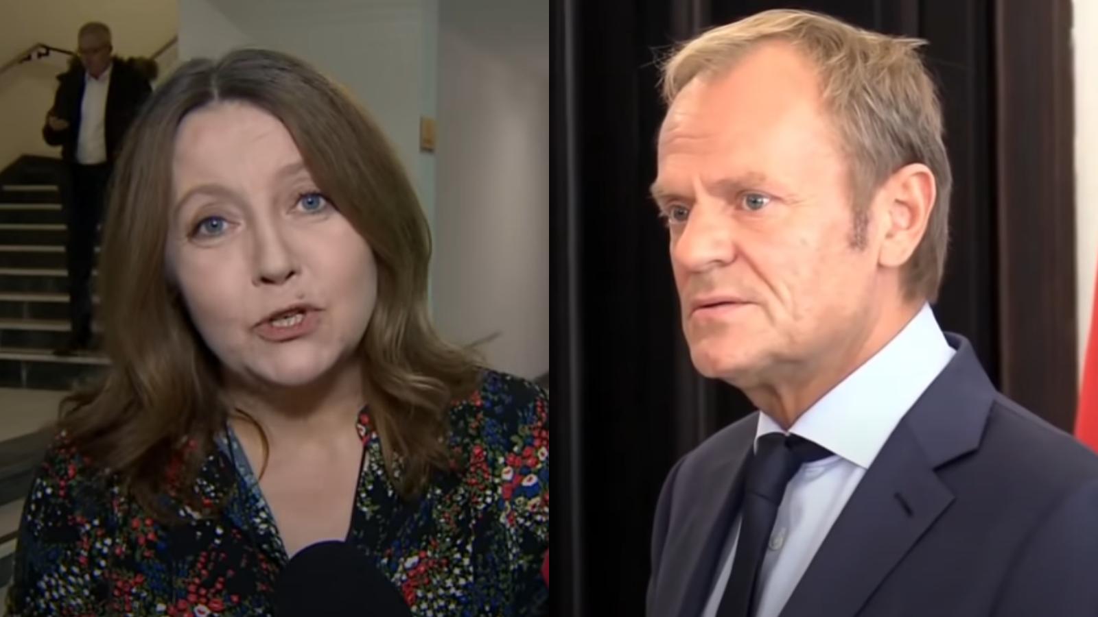 """Lichocka o Tusku: """"To zdemoralizowany, cyniczny człowiek"""""""