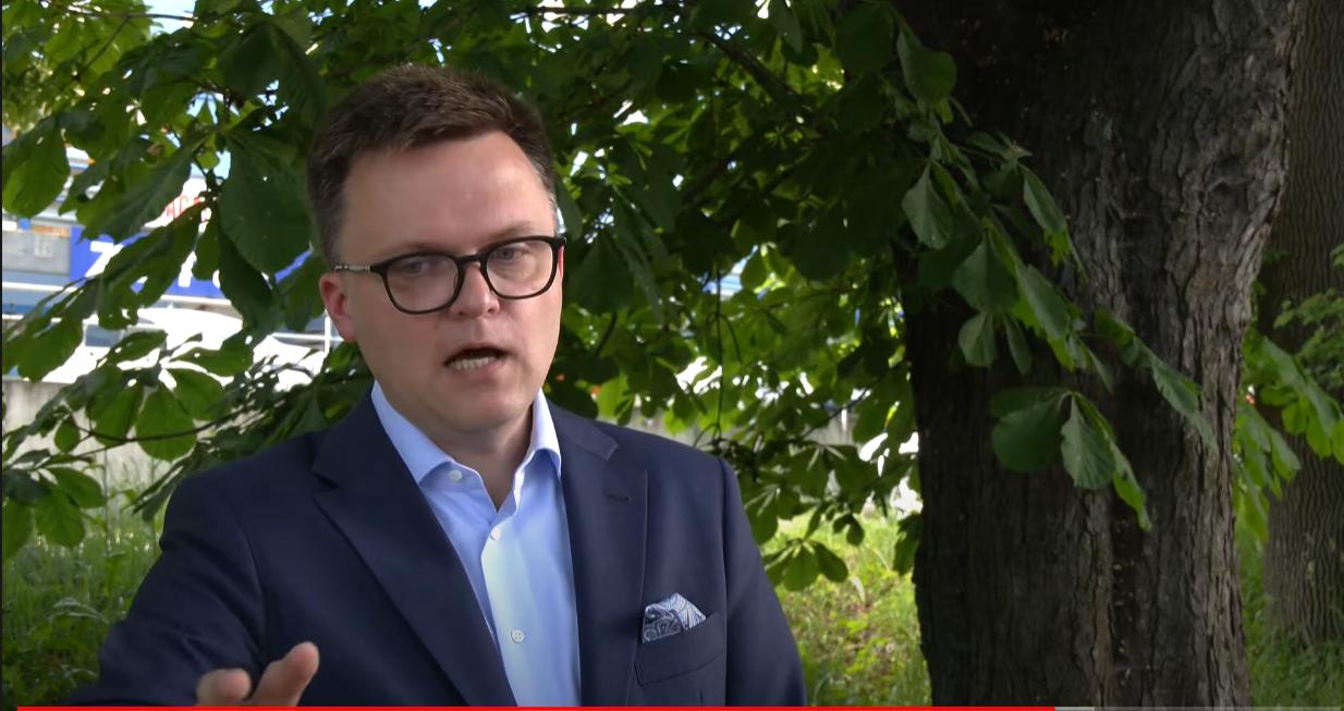 """Wściekły Hołownia o zatrzymaniu Banasia: """"Cyrk w świetle fleszy i metody paramafijne"""""""