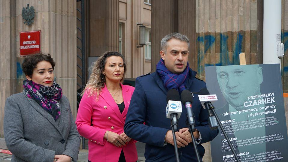 Apelowała o dymisję Czarnka. Wczoraj zagłosowała jednak przeciw