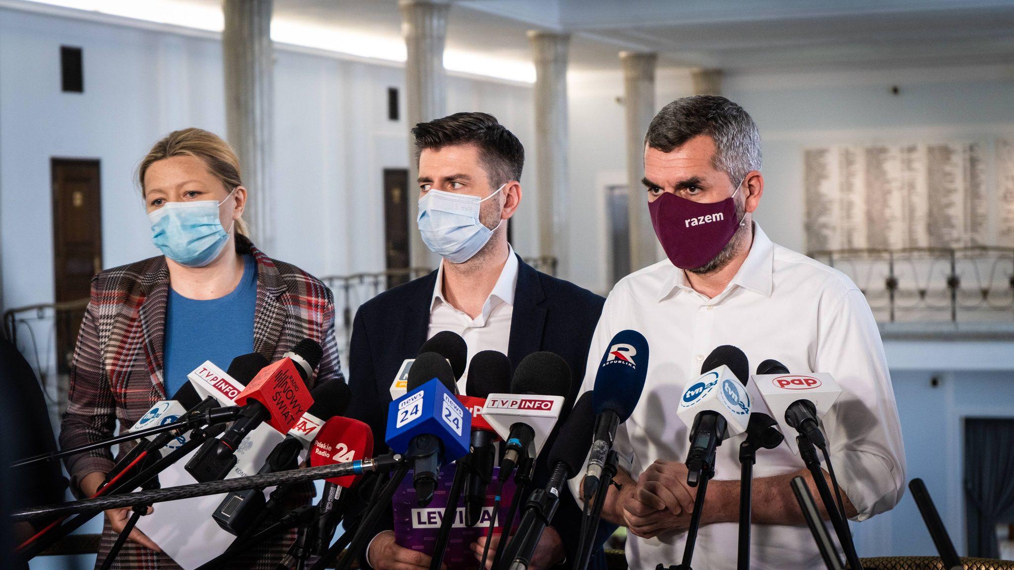 """Lewica: """"Porozumienie USA i Niemiec ws. Nord Stream 2 to klęska polskiej dyplomacji"""""""